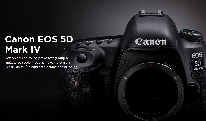 °Nový Canon 5D Mark IV je tady
