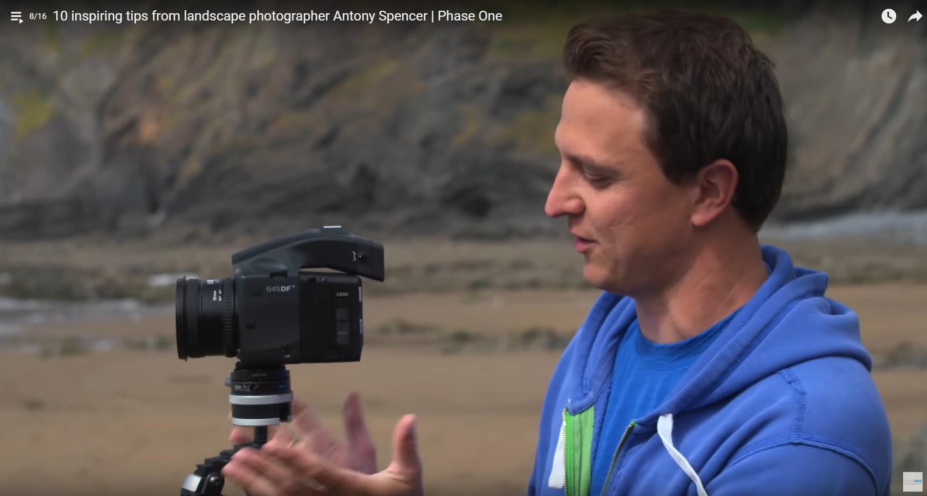 10 tipů jak fotit krajinu, antony spencer, phase one, fotograff, krajinář, lee filtry, RRS, real right stuff,