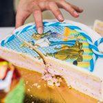 rodina, oslava, rodinna, dort, zábava, 5 let, první krůčky, dětská party, párty, bazén, narozeniny, rodinný fotograf, praha, křenek michal, kamarádi,přátelé,krájení dortu, svíčky