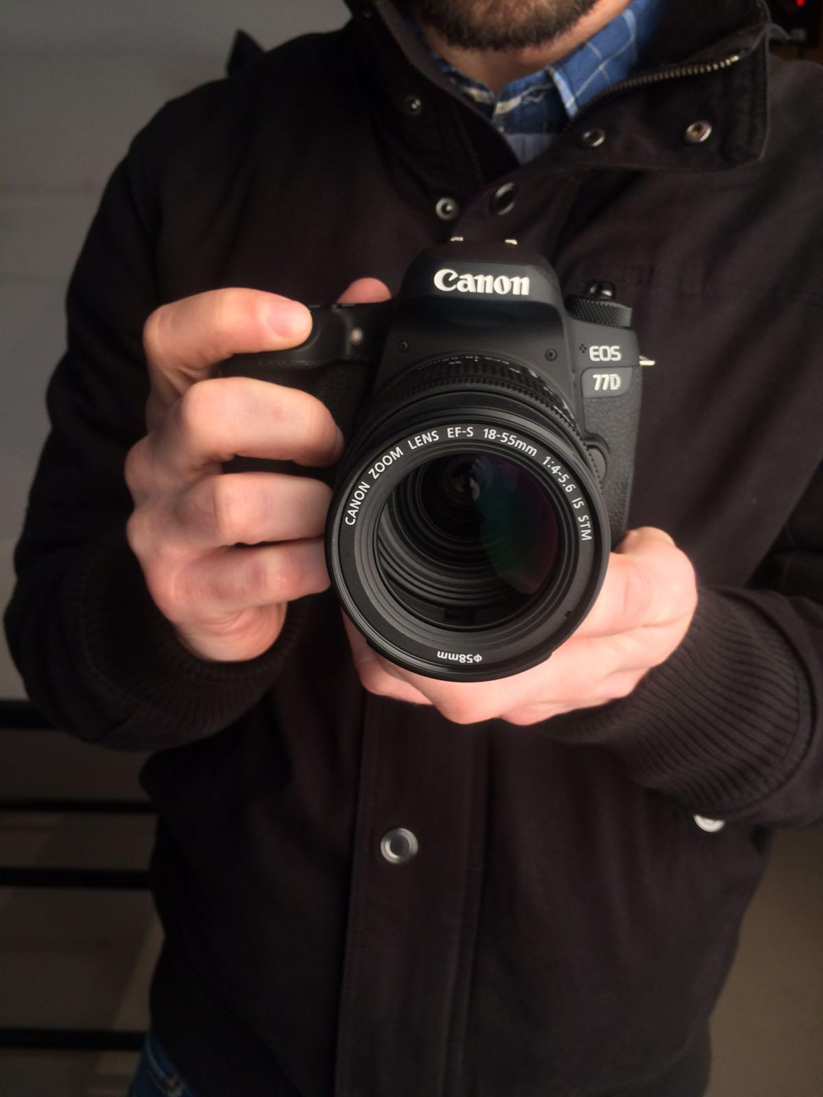 Canon EOS 77D recenze a první dojmy, recenze, EOS M6 novinka