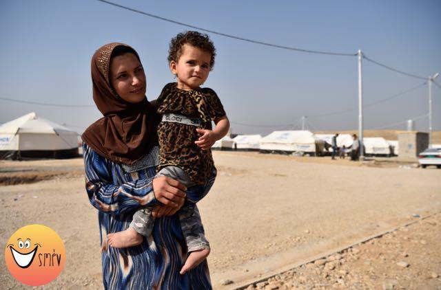 Stanislav Krupař, Arabská matka na útěku z obklíčeného Mosulu, Irák říjen 2016, vyvolávací cena: