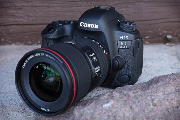 Novinka Canon EOS 6D Mark II - 4K video chybí