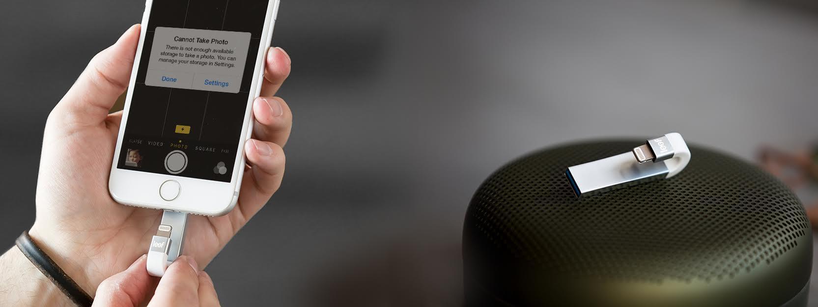 iphone, ipad bez itunes a s větší pamětí