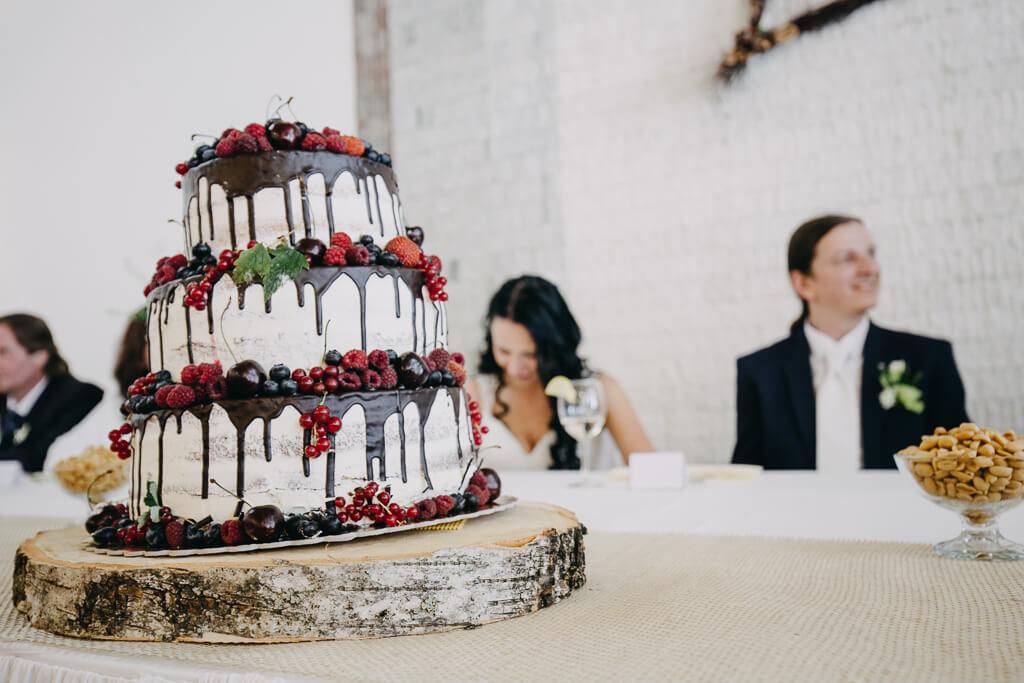 svatební dort, svatba, fotograf, svatební, krenek, chotěboř, svatba na louce, pod stromy, dokonalá svatba, 2018, havlíčkův brod, na vysočině, pod širým nebem, rocková svatba,