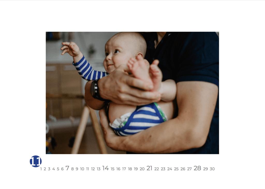 rodiný kalendář, focení doma, rodinný fotograf, originální fotky dětí, perfektní dárek pro rodiče, pro babičky